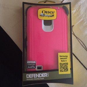 Pink note 4 otter box